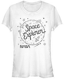 Women's NASA Space Explorer Short Sleeve Crew T-shirt