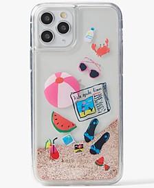 Pool Party Liquid Glitter Phone 11 Pro Case
