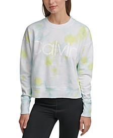 Logo Tie-Dyed French Terry Sweatshirt