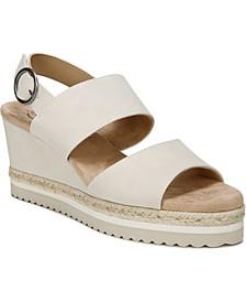 Brielle Espadrille Wedge Sandals