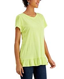 Ruffle-Back T-Shirt