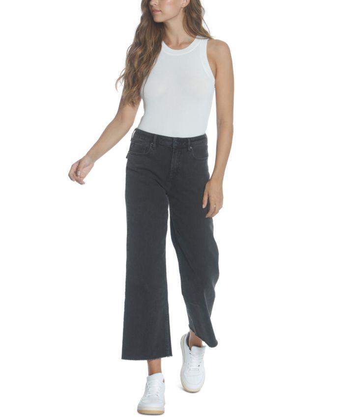 Vigoss Jeans Wide-Leg Jeans & Reviews - Jeans - Juniors - Macy's
