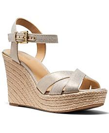 Suzette Espadrille Wedge Sandals