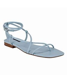 Women's Mandie Square Toe Ankle Strap Sandals