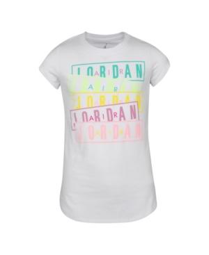 Jordan BIG GIRLS BOX LOGO GRAPHIC T-SHIRT