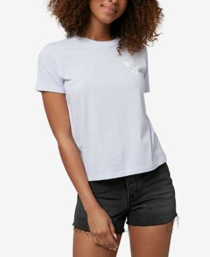 O'neill Juniors' Peace Surf Cotton T-shirt In Xenon Blue