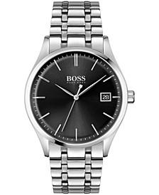 Men's Commissioner Stainless Steel Bracelet Watch 42mm