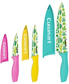 6-Pc. Cactus Print Cutlery Set
