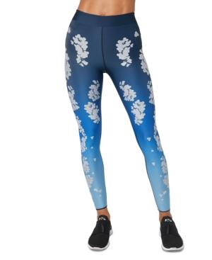 Floral-Print Leggings