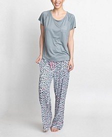 T-Shirt & Pants Pajama Set