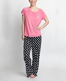 T-Shirt & Pants Pajama Set