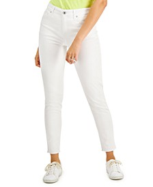 Petite Skinny White Ankle Jeans, Created for Macy's