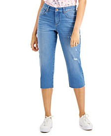 Petite Curvy-Fit Cropped Jeans, Created for Macy's