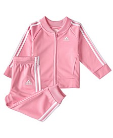 Toddler Girls Classic Tricot Track Set, 2 Piece