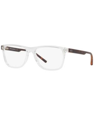 Armani Exchange AX3048 Men's Pillow Eyeglasses