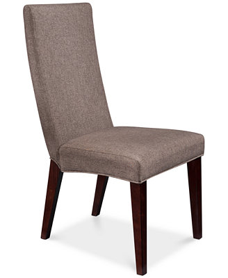 Lincoln Square Upholstered Side Chair Furniture Macy s