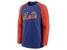 Men's New York Mets Authentic Collection Pre-Game Crew Sweatshirt