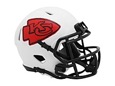 Kansas City Chiefs Speed Lunar Eclipse Alt Mini Helmet