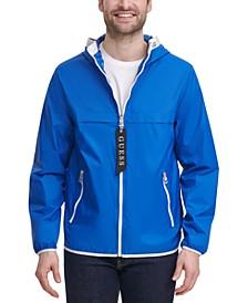 Men's Colorblocked Hooded Windbreaker