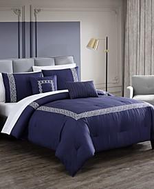 Birena 9-Pc. Embroidered Comforter Sets