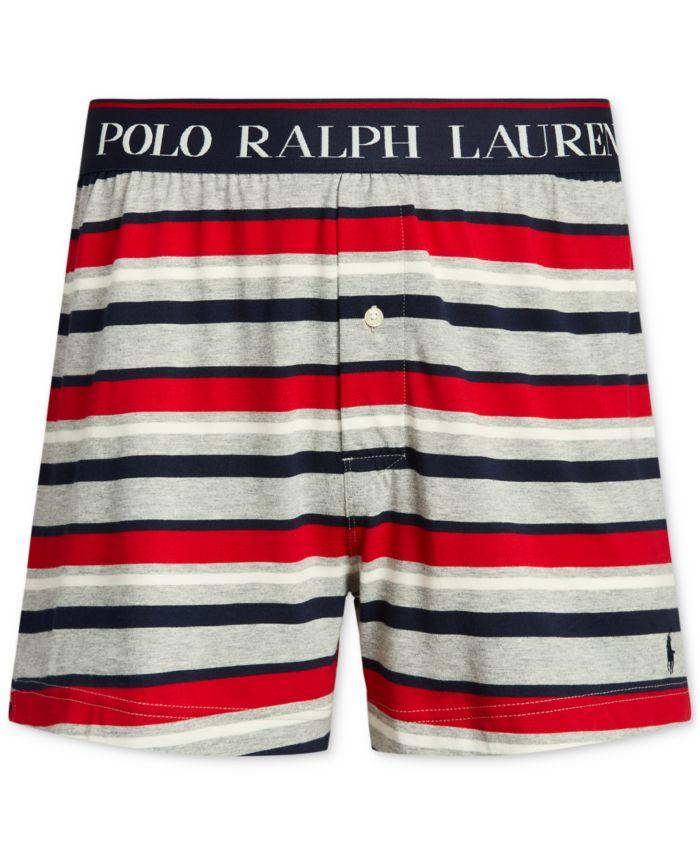 Polo Ralph Lauren Men's Pony Logo Boxers & Reviews - Underwear & Socks - Men - Macy's
