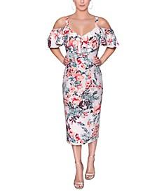 Marcella Off-The-Shoulder Dress