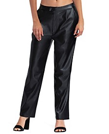 Women's Ankle Length Straight Leg Pant