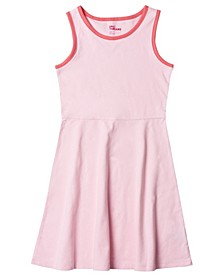 Big Girls Basic Skater Tank Top Dress
