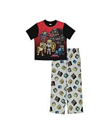 Big Boys 2 Piece Pajama Set