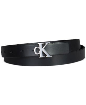 Women's Casual Logo Plaque Belt