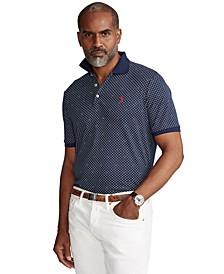 Men's Big & Tall Soft Cotton Polo Shirt