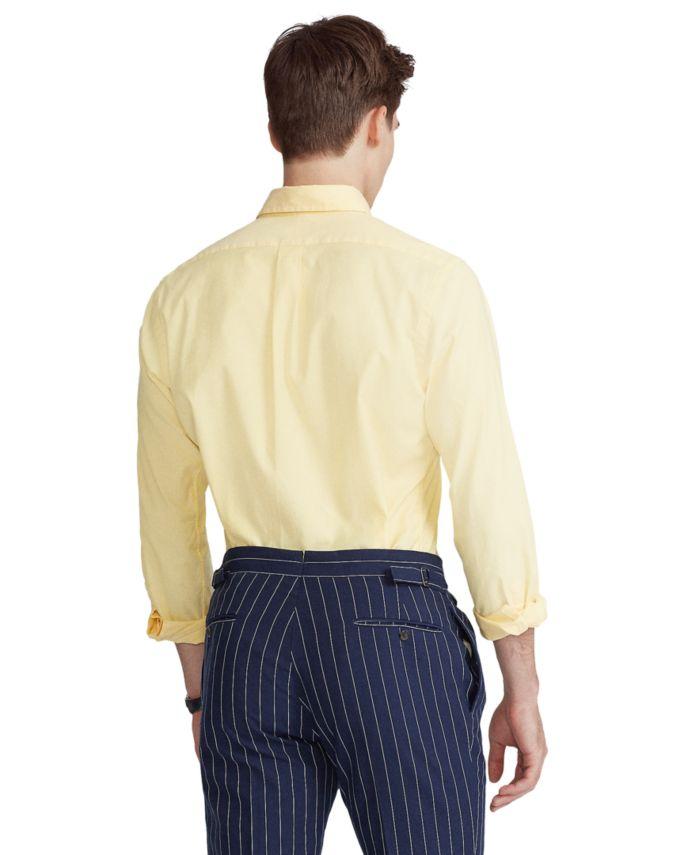 Polo Ralph Lauren Men's Big & Tall Stretch Oxford Shirt & Reviews - Casual Button-Down Shirts - Men - Macy's