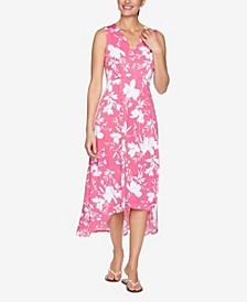 Plus Size DRS Wildflower Puff Dress