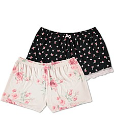 Floral by Flora Nikrooz 2-Pk. Sleep Shorts