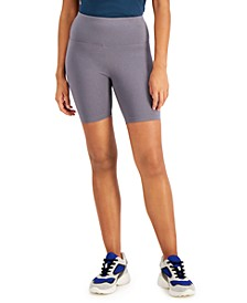 INC Cotton Bike Shorts, Created for Macy's