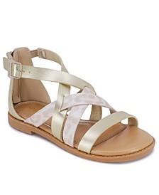 Big Girls Gladiator Sandals