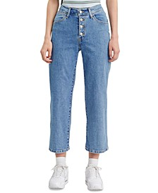 Mile High Wide-Leg Jeans