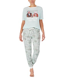 T-Shirt & Jogger Pants Pajama Set