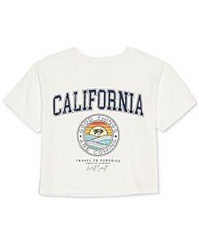 Juniors' California Graphic-Print T-Shirt