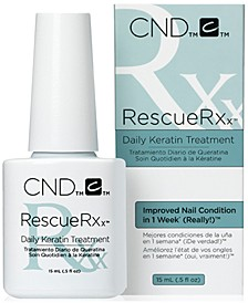 Creative Nail Design RescueRXx Daily Keratin Treatment, from PUREBEAUTY Salon & Spa