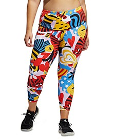 Plus Size Believe This Tights