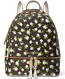 Rhea Signature Zip Backpack