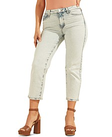 Cropped 1981 Straight-Leg Jeans