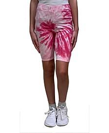 Girls Tie-Dye Bike Short