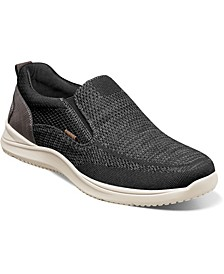 Men's Conway Knit Athletic Style Moc Toe Slip-On Loafer