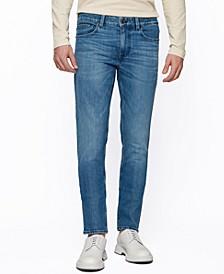 BOSS Men's Extra-Slim-Fit Blue Jeans