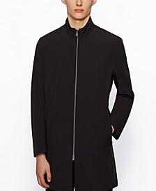 BOSS Men's Water-Repellent Packable Coat