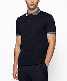 BOSS Men's Embroidered Polo Shirt