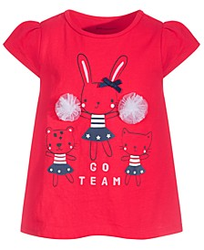 Baby Girls Go Team Cotton Tunic, Created for Macy's