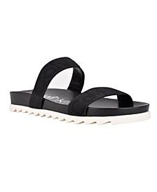 Women's Carlat Slip-On Flat Sandals